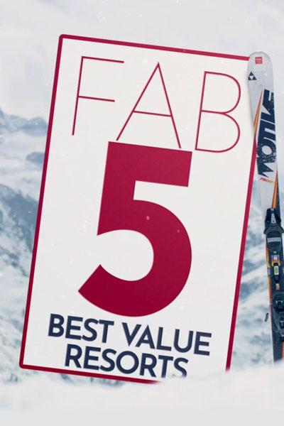 Fab 5 - Budget Ski Resorts