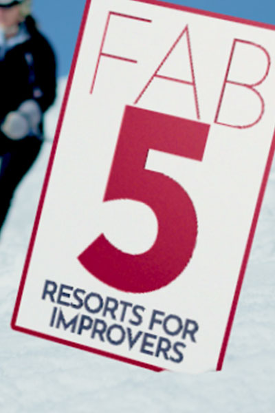 FAB 5 Best Ski Resorts for Improvers