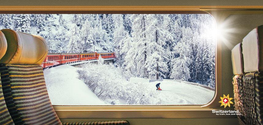 Free 1st Class Upgrade on Swiss Rail Transfers