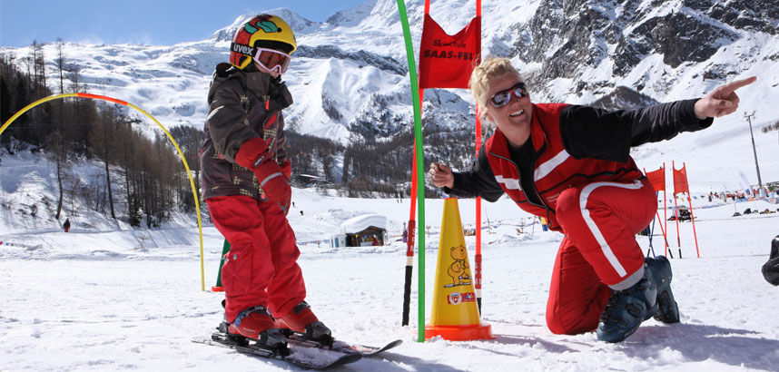 Family ski holidays in Saas-Fee