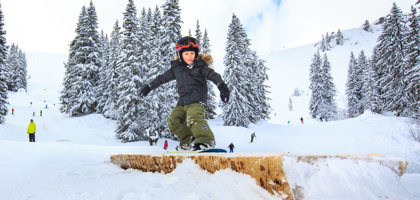 Family ski holidays in Avoriaz