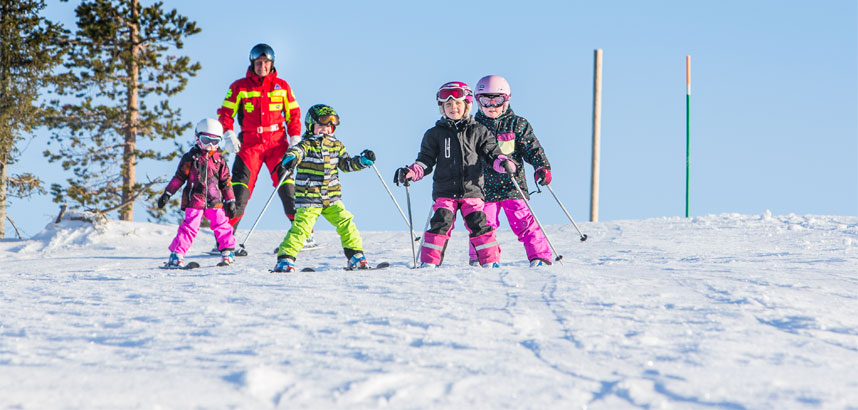Family ski holidays in Levi, Lapland