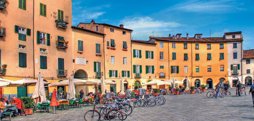 Lucca in Italy