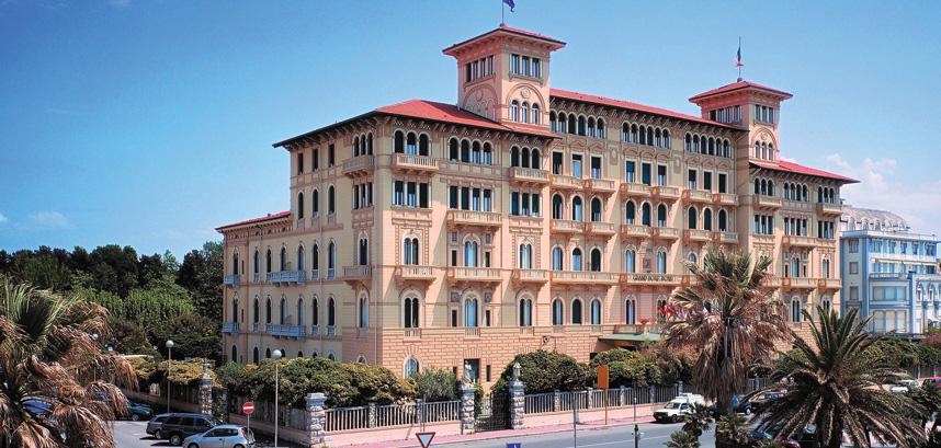 Gran Hotel Royal in Viareggio, Italy