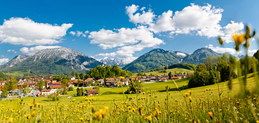 Summer holidays in Ruhpolding, Germany