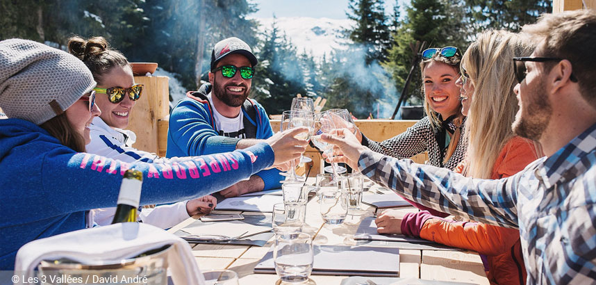 Best Ski Resorts for Foodies #2 Courchevel