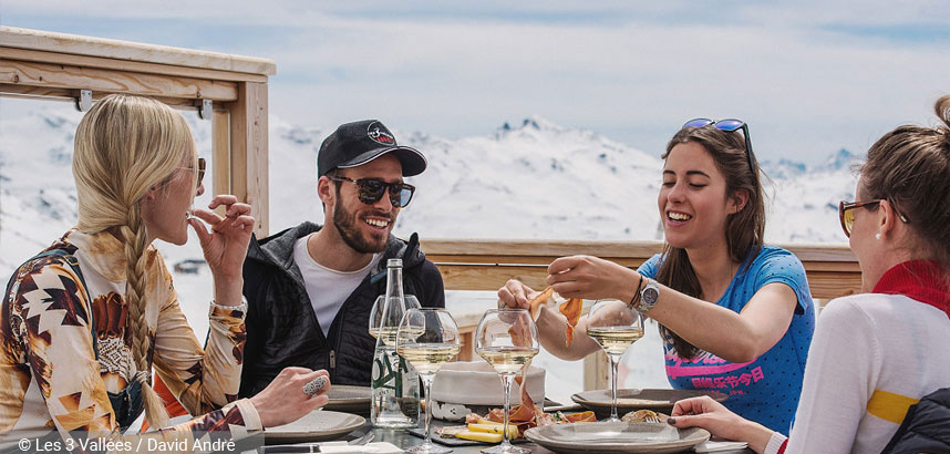 Best Ski Resorts for Foodies #5 Val Thorens