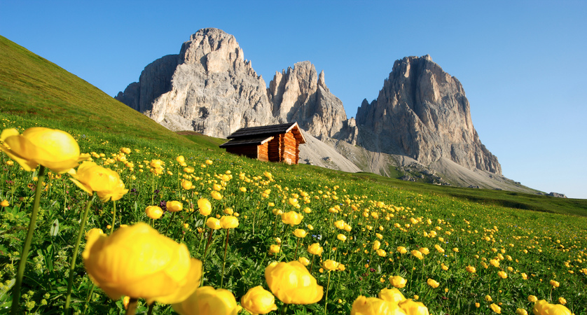 Summer holidays in Canazei, Italy