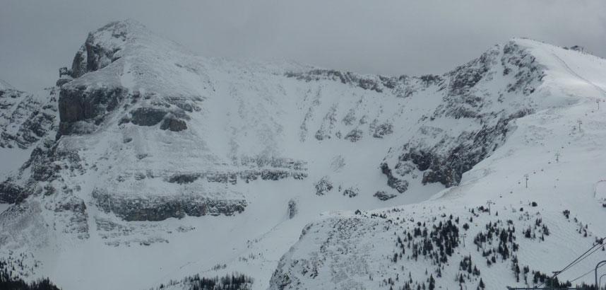Delirium Dive - Banff - Scary Ski Runs