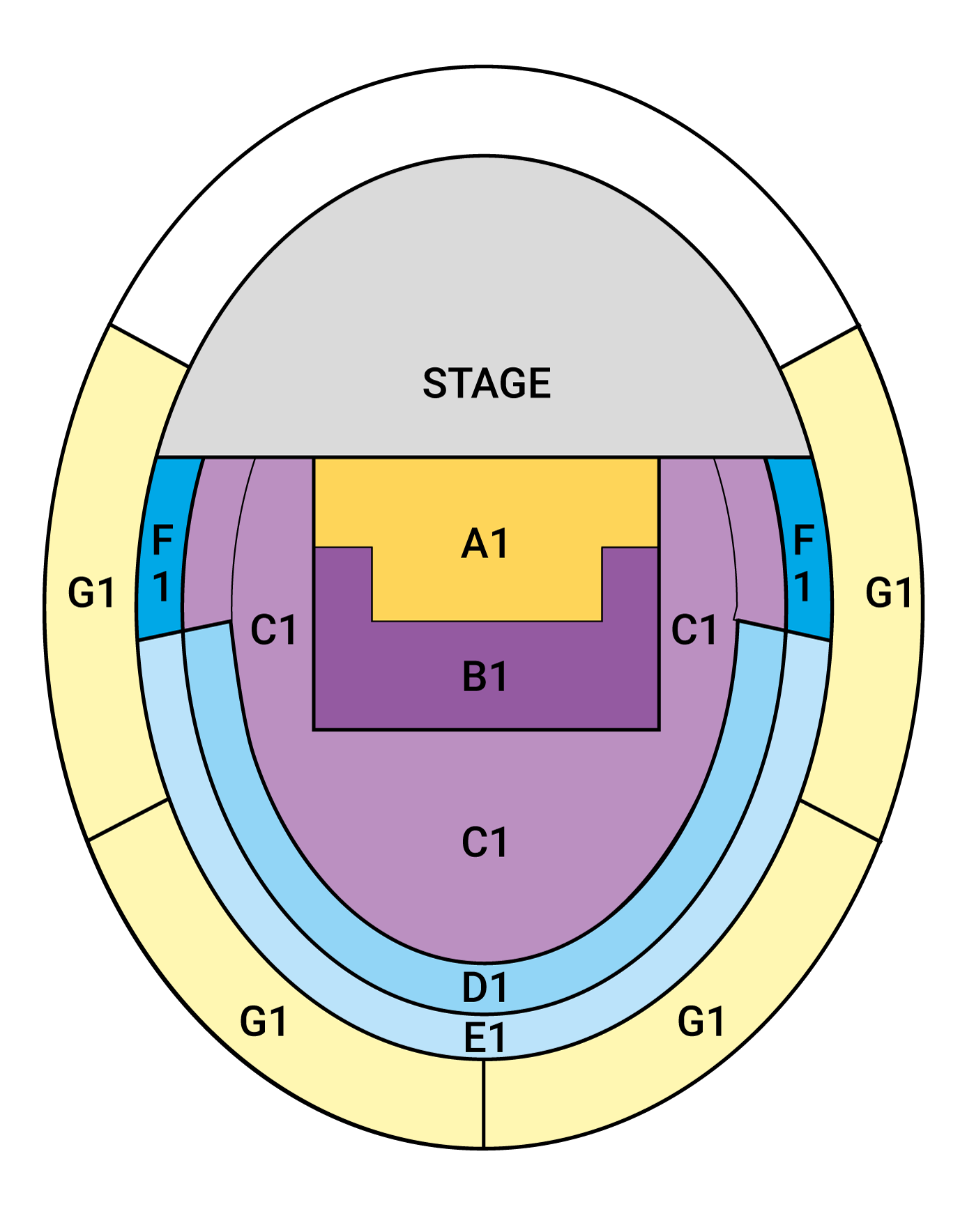 Verona Seating Plan