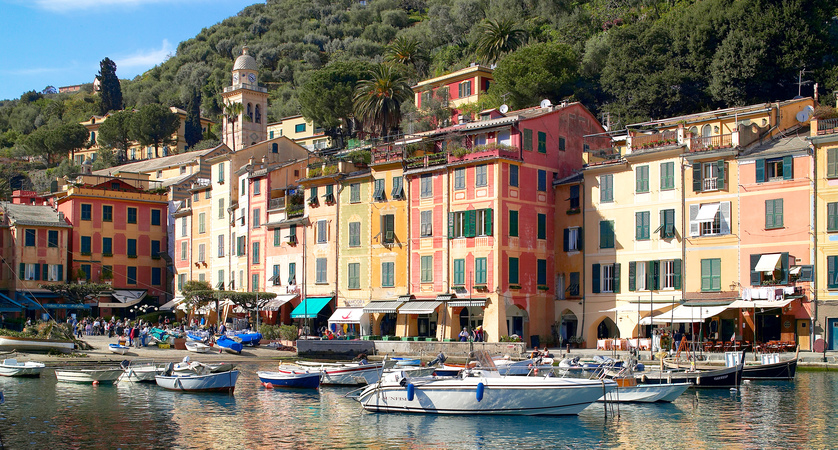Cinque Terre and Portino Self-Guided Tour from Rapallo
