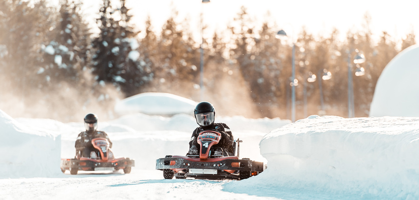 Ice-Karting Competition