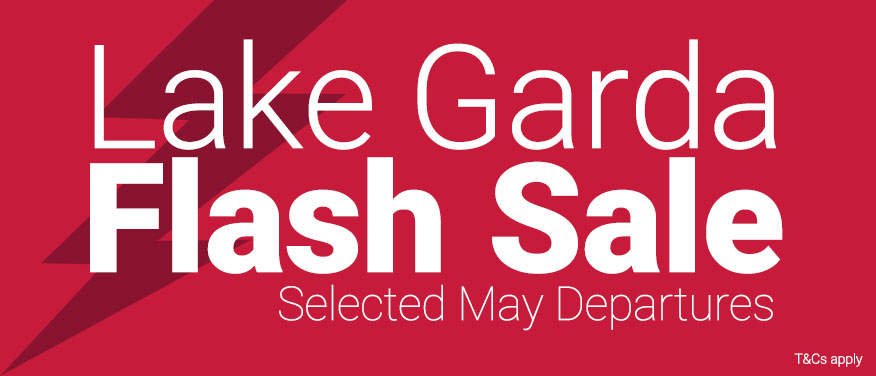 Lake Garda Flash Sale on at Inghams