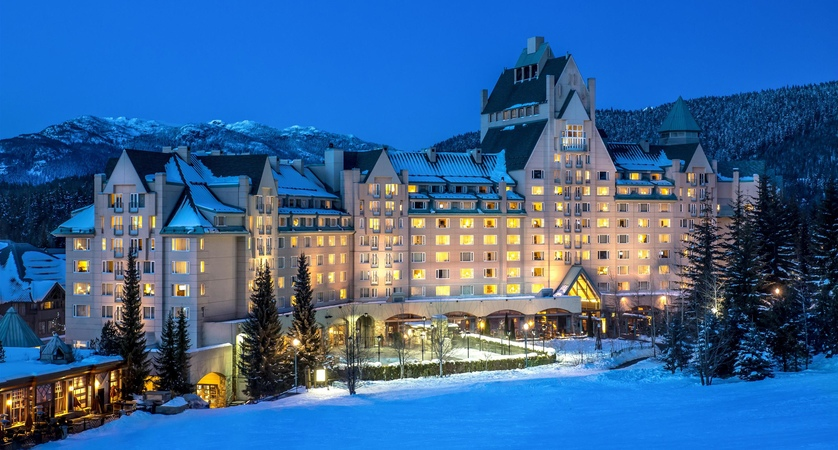Fairmont Chateau in Whistler