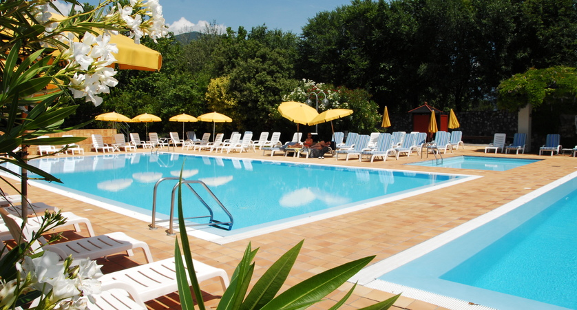 Hotel Iseolago, Lake Iseo, pools
