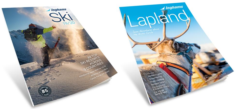 New InghamsSki & Lapland brochures for W2019/20